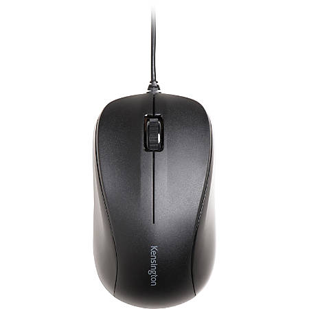 Kensington Wired USB Mouse for Life - Black