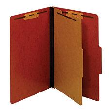 Pendaflex Pressboard Moisture Resistant Classification Folders