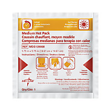 Medline Instant Hot Packs 6 x