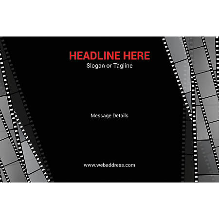 Custom Poster, Film Strips, Horizontal