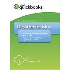 QuickBooks Desktop For Apple Mac 2019
