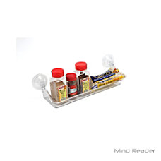 Mind Reader Acrylic Storage Suction Shelf