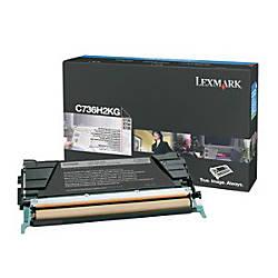 Lexmark Black High Yield Toner Cartridge