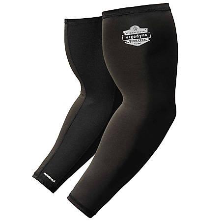 Ergodyne Chill-Its® 6690 Cooling Arm Sleeve, 2X, Black