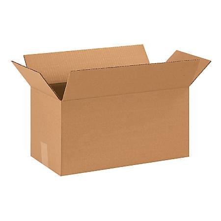 "Office Depot® Brand Corrugated Cartons, 18"" x 9"" x 9"", Kraft, Pack Of 25"