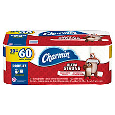 Charmin Ultra Strong 2 Ply Double