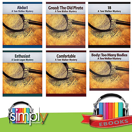 Tom Walker Mysteries-6 eBooks, Download Version
