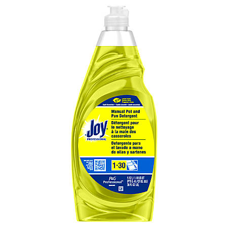 Joy Dish Washing Soap, Lemon Scent, 38 Oz.