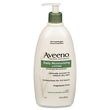 Aveeno® Daily Moisturizing Lotion, 18 0z, Unscented