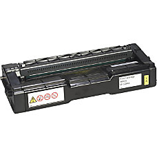 Ricoh Original Toner Cartridge Yellow