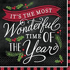 Amscan Christmas Most Wonderful Time 2