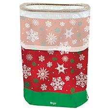 Amscan Christmas Snowflake Fling Bins 22