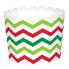 Amscan Christmas Scalloped Treat Cups 4