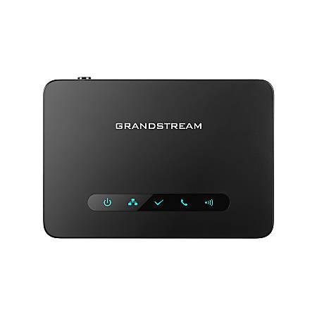 Grandstream Long-Range DECT VoIP Base Station, Black, GS-DP750