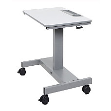 Luxor Crank Adjustable SitStand Student Desk