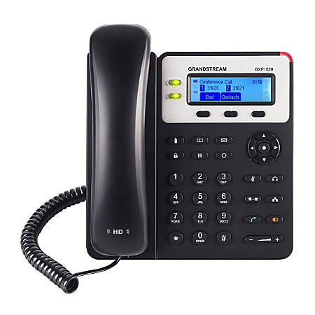 Grandstream Small Business HD 2-Line IP Telephone, GS-GXP1620