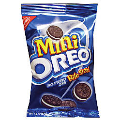 Nabisco Bite Size Oreo Cookies 175