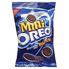Nabisco Bite Size Oreo Cookies 175