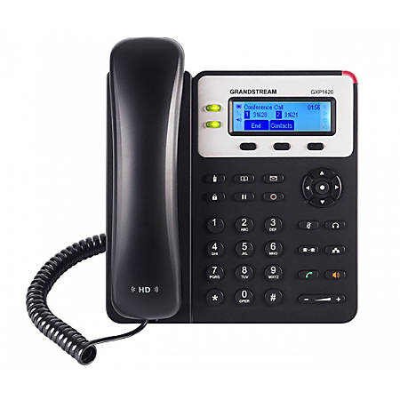 Grandstream Small Business HD VoIP 2-Line Phone, GS-GXP1625
