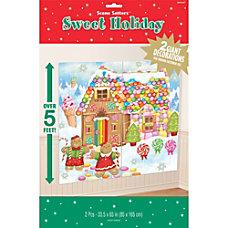 Amscan Christmas Sweet Holiday Scene Setter