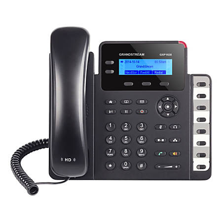Grandstream Small Business HD 2-Line IP Phone, GS-GXP1628