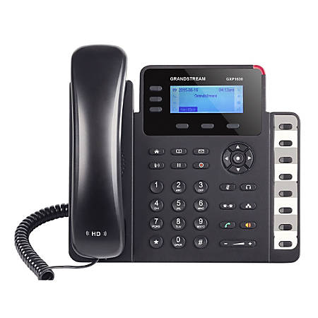 Grandstream Small Business HD IP 3-Line Phone, GS-GXP1630