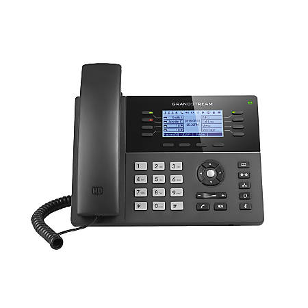 Grandstream Powerful Mid-Range 8-Line Phone, GS-GXP1780
