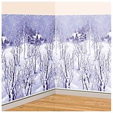 Amscan Christmas Winter Wonderland Room Roll