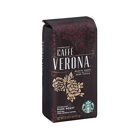 Starbucks® Caffe Verona Ground Coffee, 16 Oz.