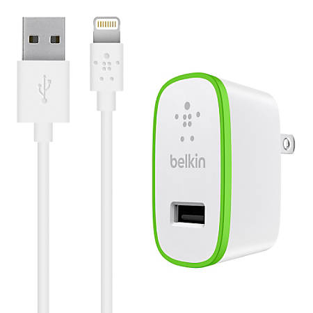 Belkin® BOOST UP™ Mobile Charger With Lightning Cable, White
