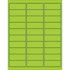 Office Depot Brand Labels LL173GN Rectangle