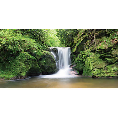 "Biggies Wall Mural, 27"" x 54"", Waterfall"
