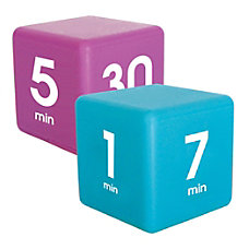 Datexx Time Cube Preset Timers BluePurple