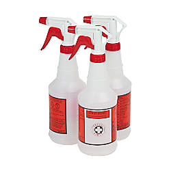 Unisan Plastic Sprayer Bottles 24 Oz