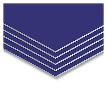 """Elmer's® Sturdy-Board Foam Boards, 20"""" x 30"""", Blue, Carton Of 10"""