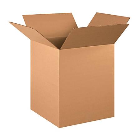 "Office Depot® Brand Corrugated Cartons, 16"" x 16"" x 20"", Kraft, Pack Of 20"
