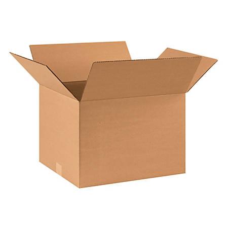 "Office Depot® Brand Corrugated Cartons, 17"" x 14"" x 12"", Kraft, Pack Of 25"