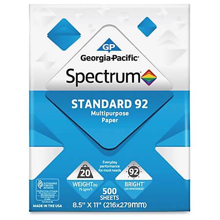 spectrum laser inkjet print copy multipurpose paper letter size