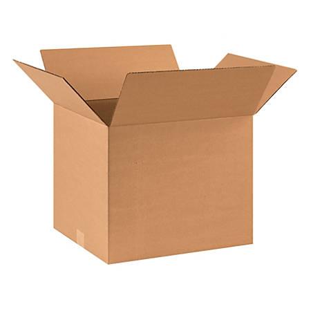 "Office Depot® Brand Corrugated Cartons, 17"" x 14"" x 14"", Kraft, Pack Of 25"