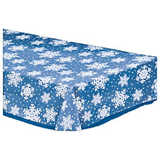 Amscan Christmas Snowflake Table Covers 54