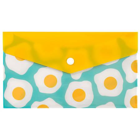 "Office Depot® Brand Poly Envelope, Check Size, 5-1/2"" x 8-1/2"", Egg"