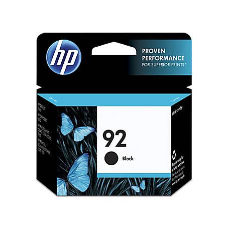 HP 92, Black Original Ink Cartridge (C9362WN)