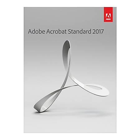 Adobe® Acrobat® Standard 2017, Traditional Disc