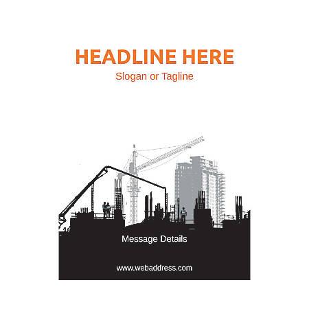 Custom Flyer, Vertical, Construction