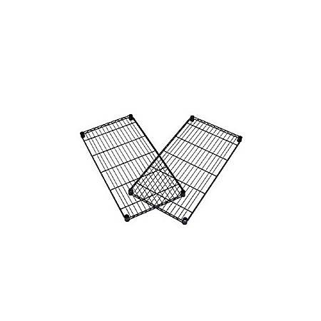 """OFM Extra Wire Shelf For Heavy-Duty Storage Units, 1""""H x 48""""W x 24""""D, Black"""