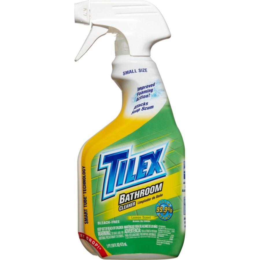 tilex bathroom cleaner spray 0 13 gal 16 fl oz lemon scent 1 each rh officedepot com