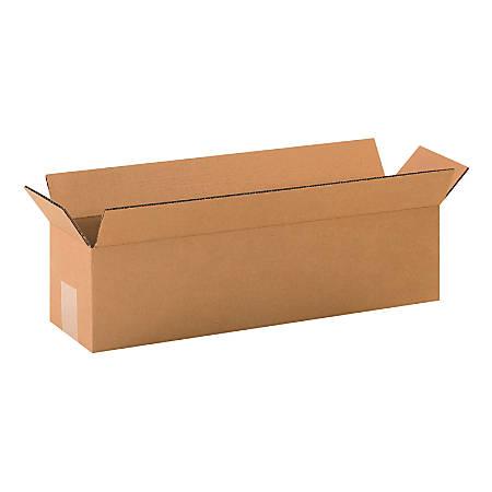 "Office Depot® Brand Corrugated Cartons, 20"" x 5"" x 5"", Kraft, Pack Of 25"