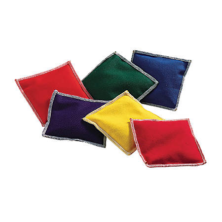 Learning Resources® Rainbow™ Bean Bags, Pack Of 6