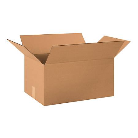 "Office Depot® Brand Corrugated Cartons, 20"" x 13"" x 10"", Kraft, Pack Of 25"