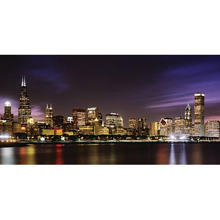 "Biggies Wall Mural, 60"" x 120"", Chicago Skyline"